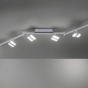LED-Deckenleuchte LOLAsmart Sabi, 6-flammig