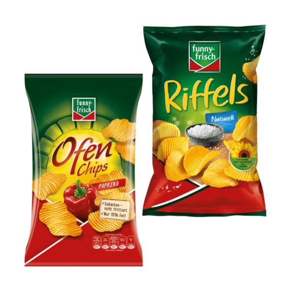 FUNNY FRISCH     Ofen-Chips / Riffels
