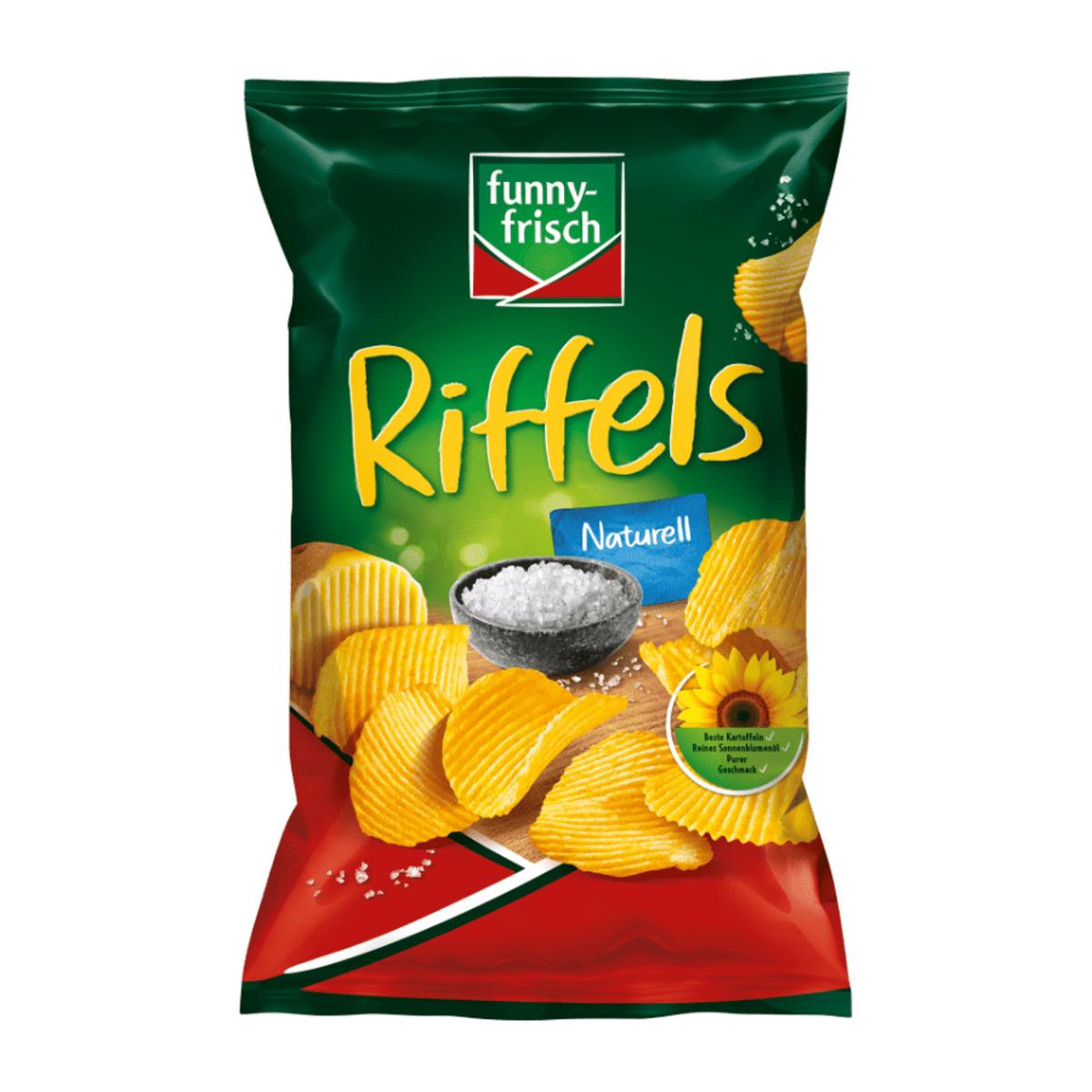 Bild 3 von FUNNY FRISCH     Ofen-Chips / Riffels