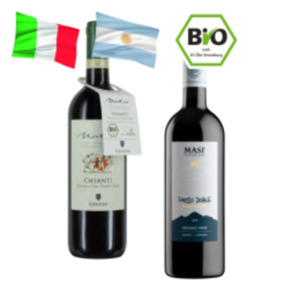 Masi Passo Doble Rosso di Argentina oder Cecchi Natio Bio-Chianti