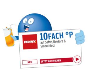 10Fach Punkte auf Säfte, Nektare und Smoothies im PENNY Markt!