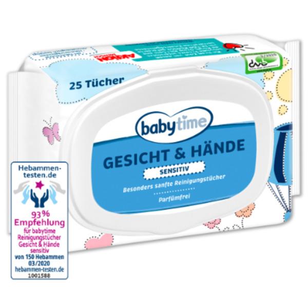 BABYTIME Tücher Gesicht & Hände