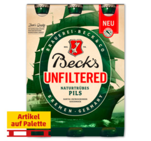 BECK'S Unfiltered Pils