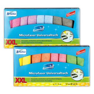 Saubermax Microfaser Universaltücher XXL