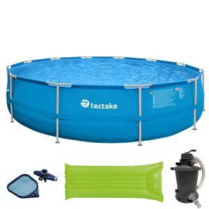 Swimming Pool Merina rund 450x122cm mit viel Zubehör