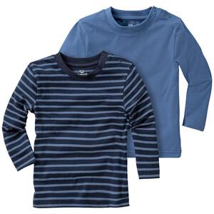 2 Baby Langarmshirts im Basic-Look
