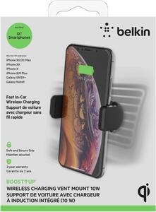 BELKIN BOOSTUP Wireless Charging QI Car mount