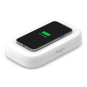 Belkin BOOST Charge UV Sanitizer + Wireless Charger ws.WIZ011vfWH