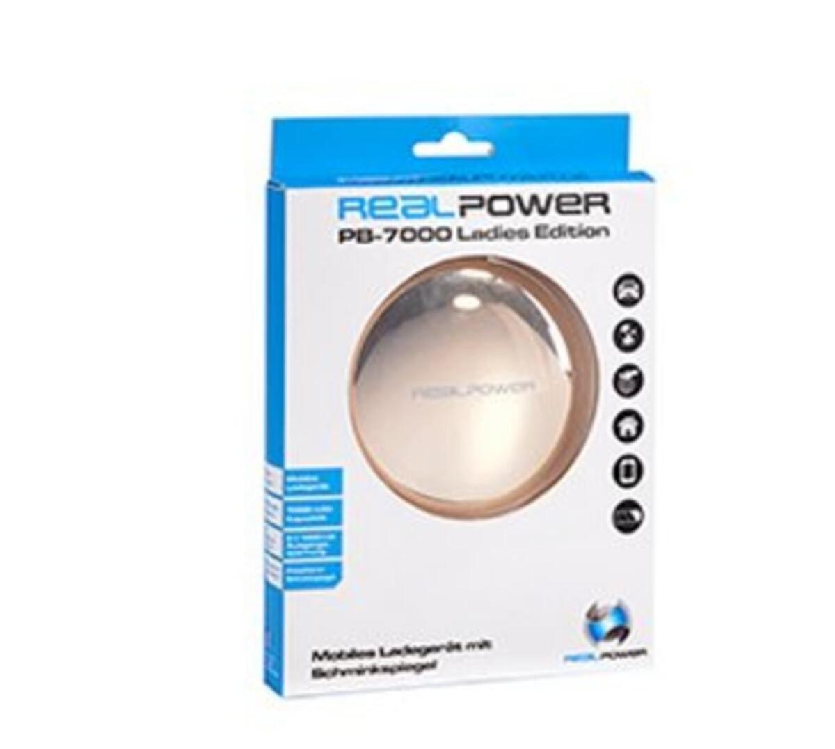 Bild 2 von Realpower PB-7000 - Externer Batteriensatz 7000 mAh
