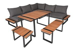 Lounge-Eckgruppe BELMIRA, 6-tlg
