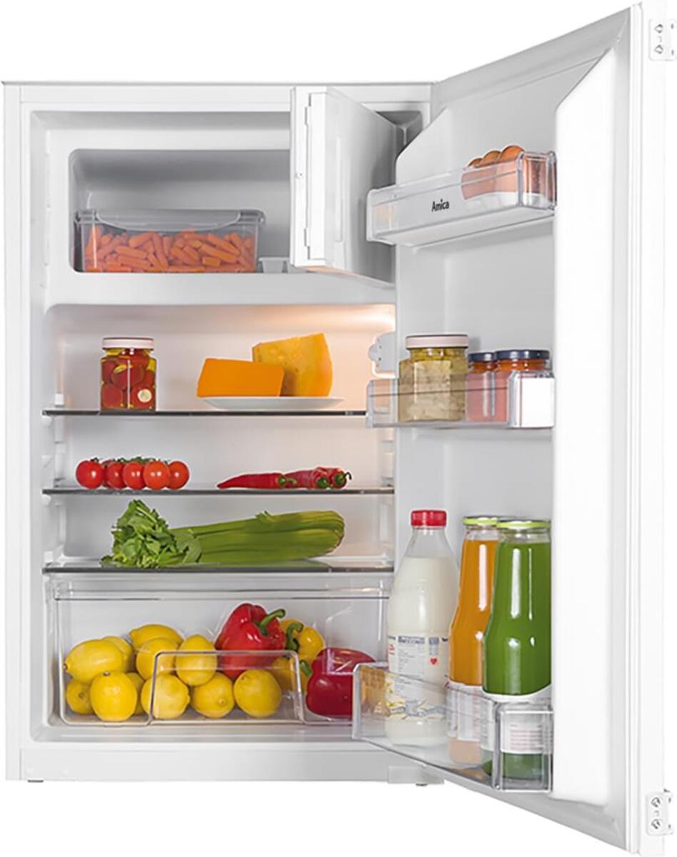 Bild 1 von Amica EKS 16171, Kühlschrank mit Gefrierfach, 880 mm Nische, Schlepptür-Technik,