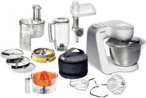 Bosch MUM 54251 Styline Küchenmaschine weiss silber