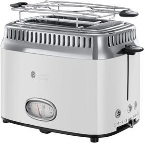 Russell Hobbs Retro Classic Blanc Toaster