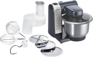 Bosch Multifunktions Küchenmaschine MUM48A1, Farbe: Anthrazit/Silber