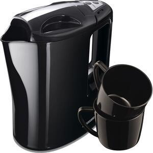 Melissa 16130287 Reise-Wasserkocher Exklusiv mit 2 Tassen und Reisebeutel