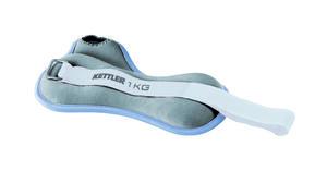 Kettler Handmanschetten ; Farbe: Taubenblau / Grau ; 2 Manschetten à 1 kg; 07361-410