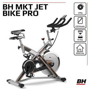 Indoor Bike MKT JET BIKE PRO H9162RF 22kg Schwungrad PolyV-Riemen