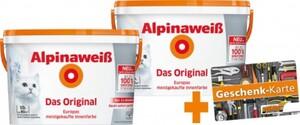 Alpinaweiß Das Original Gutscheinaktion * beim Kauf von mind. 2 Aktionseimer