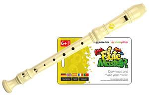 """Blockflötenkiste """"Flute Master 2"""" (25 x App + 25 Blockflöten Kunststoff dt. GW)"""