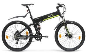Faltmountainbike FML 830 black