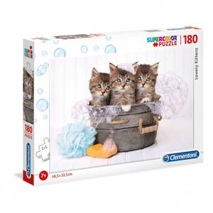 Puzzle - Niedliche Kätzchen -180 Teile - Supercolor