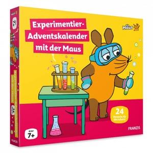 Die Maus - Experimentier-Adventskalender mit der Maus