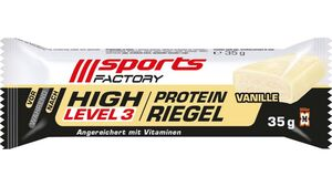 SPORTS FACTORY Proteinriegel Level 3 Vanille