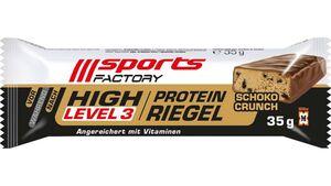 SPORTS FACTORY Proteinriegel Level 3 Schoko-Crunch