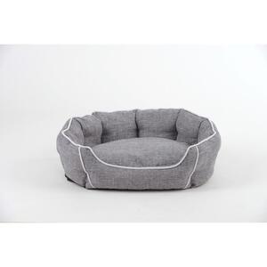 Mid.you Haustierkissen  Grau  Textil