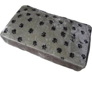 Mid.you Hundekissen  Grau  Textil