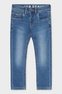 C&A Slim Jeans-Jog Denim, Blau, Größe: 98