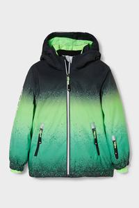 C&A Skijacke mit Kapuze-recycelt, Grün, Größe: 98
