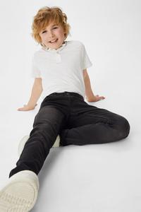 C&A Skinny Jeans-Bio-Baumwolle, Schwarz, Größe: 128