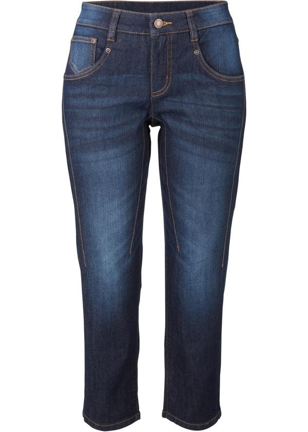 Komfort-Stretch-Capri-Jeans