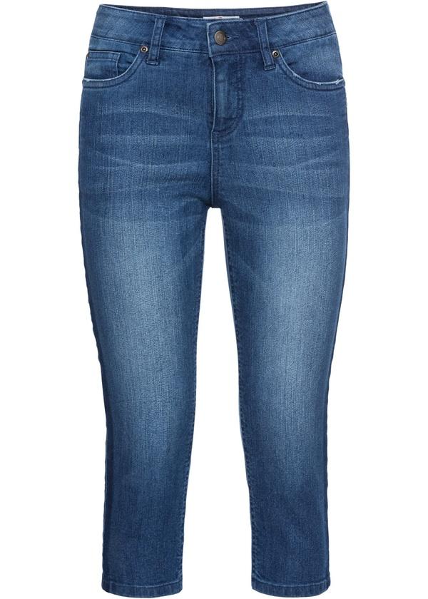 Stretch Capri-Jeans