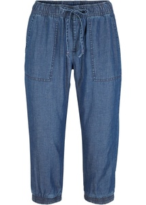 Nachhaltige Leinen-Capri-Jeans mit TENCEL™ Lyocell