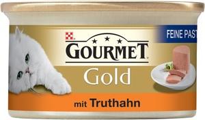 Purina Gourmet Gold Feine Pastete mit Truthahn 85G
