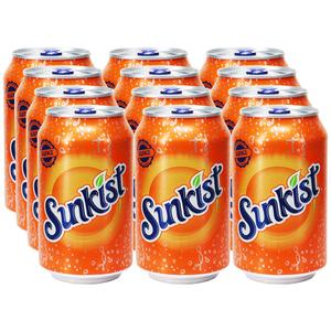 Sunkist Orange, 12er Pack (EINWEG) zzgl. Pfand