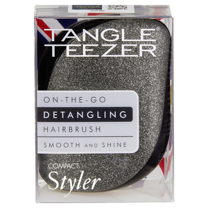 Tangle Teezer Compact Styler Black Glitter