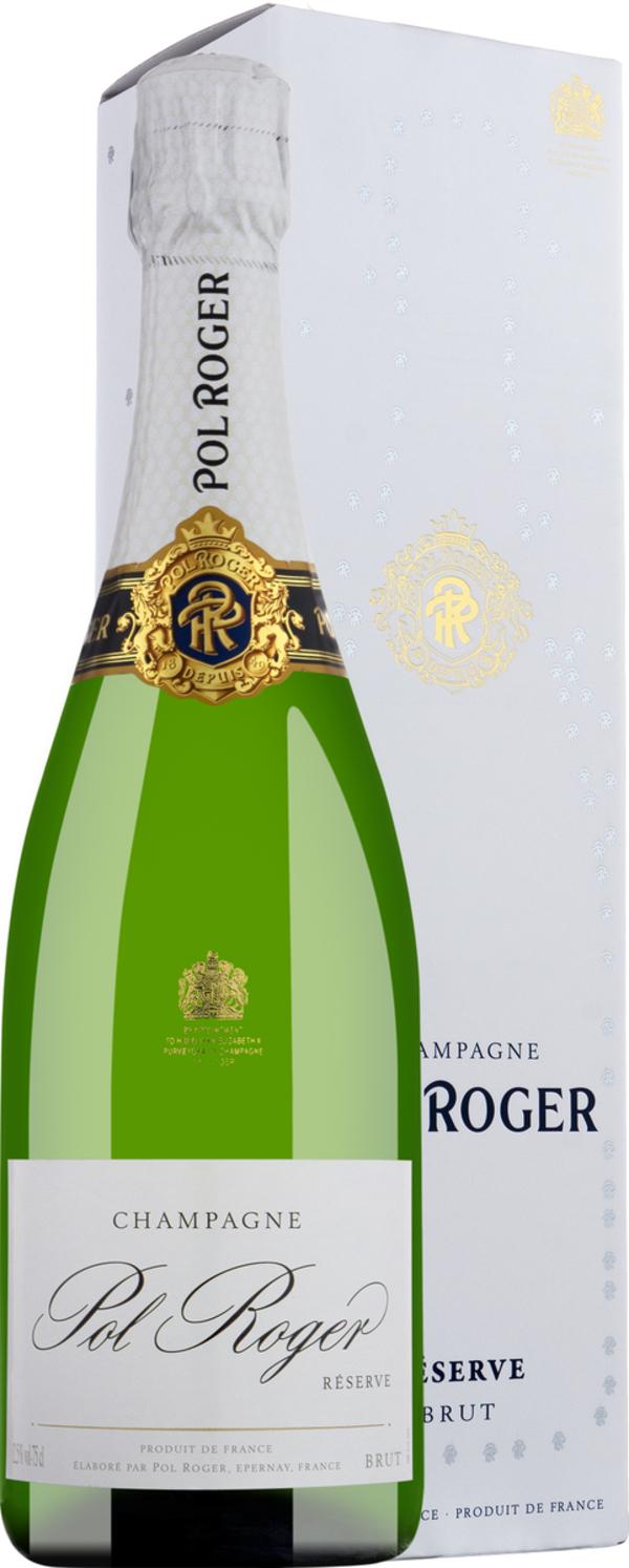 Champagner Pol Roger Réserve Brut in Gp   - Schaumwein, Frankreich, trocken, 0,75l