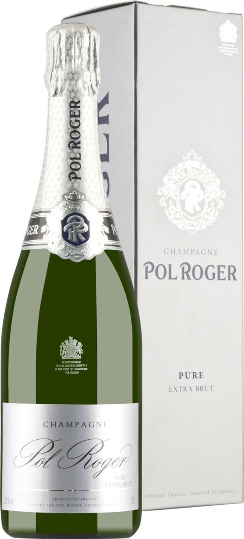 Champagner Pol Roger Brut Nature Pure in Gp   - Schaumwein, Frankreich, extra trocken, 0,75l