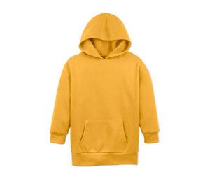 Hoodie, gelb