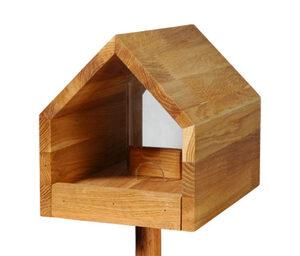 Dobar-Design-Futterhaus »Bauhaus I«, Eiche, geölt