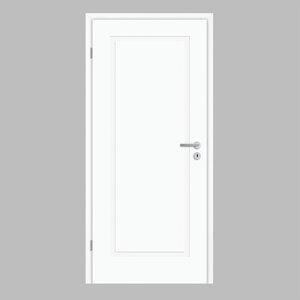 """Borne              Zimmertür, """"Lusso 01"""", 198,5x86 cm, design-weiß, links"""