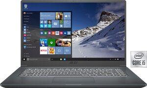 MSI Modern 15 A10M-641 Notebook (39,6 cm/15,6 Zoll, Intel Core i5, UHD Graphics, 512 GB SSD, Kostenloses Upgrade auf Windows 11, sobald verfügbar)