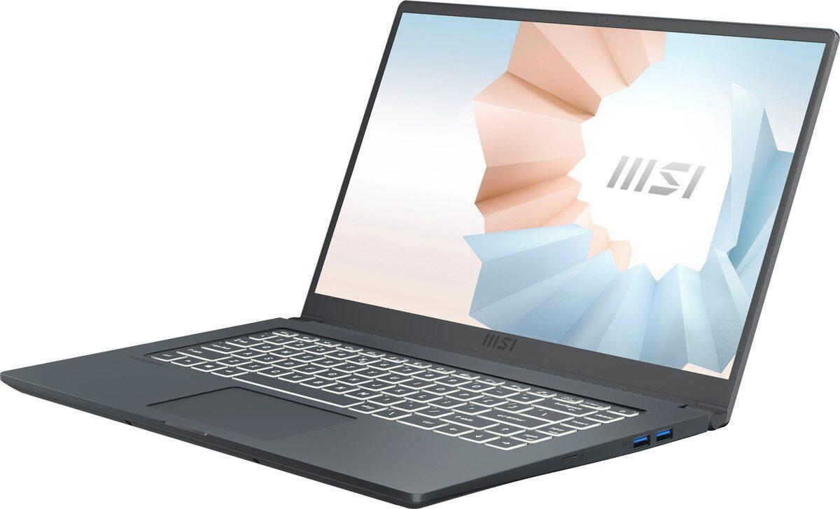 Bild 5 von MSI Modern 15 A10M-641 Notebook (39,6 cm/15,6 Zoll, Intel Core i5, UHD Graphics, 512 GB SSD, Kostenloses Upgrade auf Windows 11, sobald verfügbar)