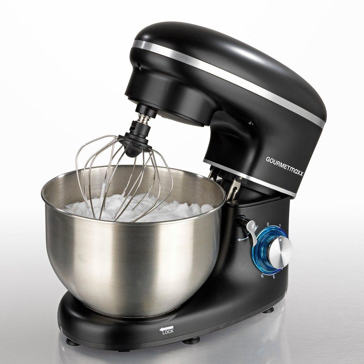 Bild 2 von GOURMETmaxx Küchenmaschine, 6 Geschwindigkeitsstufen