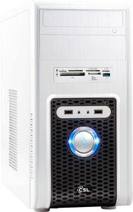 CSL Sprint V8880 PC (AMD Ryzen 3 3200G, Radeon Vega 8, 8 GB RAM, 2000 GB HDD, 512 GB SSD, Luftkühlung)