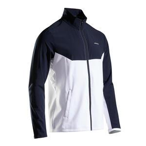 Trainingsjacke TJA 500 Tennis Herren blau/weiss