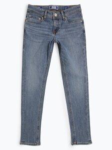 Jack & Jones Jungen Jeans Skinny Fit - Liam blau Gr. 152